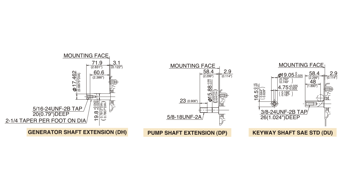 ROBIN Motor EH25B//EY28B Kettendumper Minitrac Dumper MAVECO CHIKUSUI